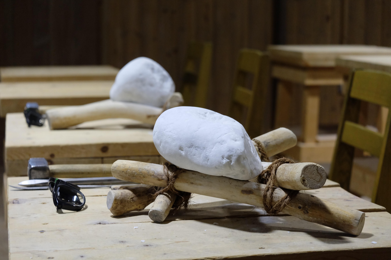 1月「こころを彫る授業」