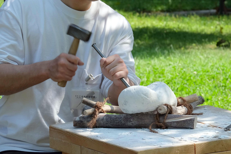 11月 こころを彫る授業